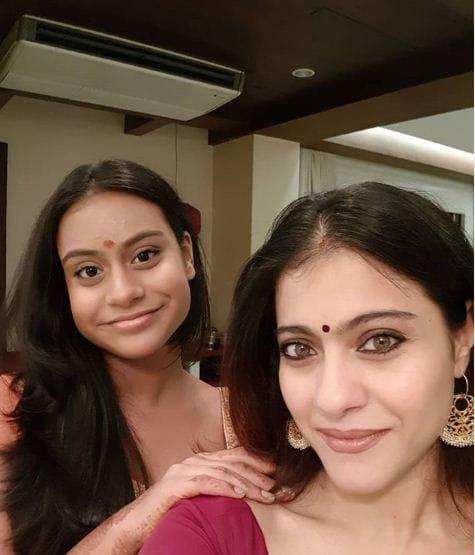 Kajol With Her Duaghter Nysaa Devgan