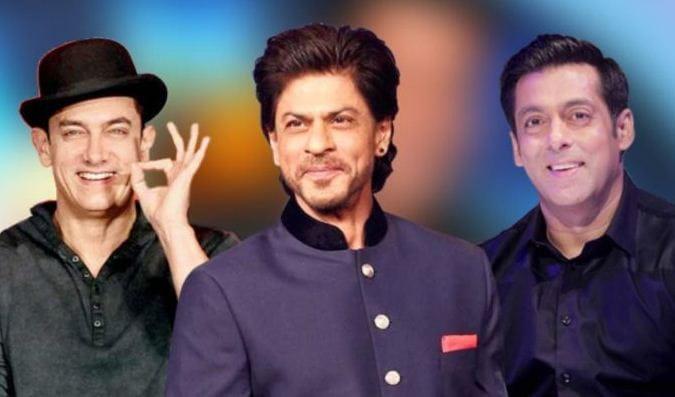 Salman, Shah Rukh, Aamir