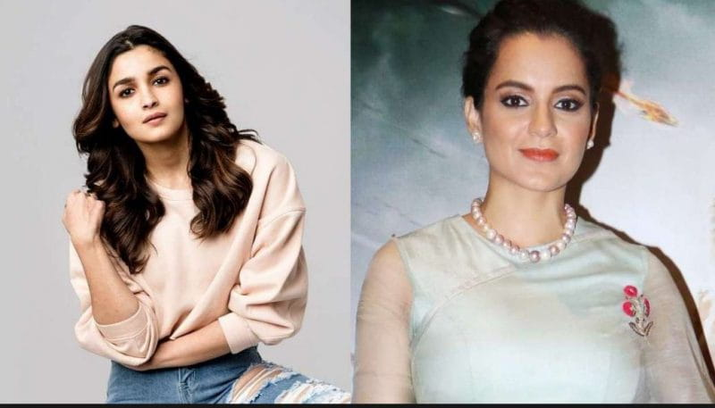 Alia Bhatt and Kangana Ranaut