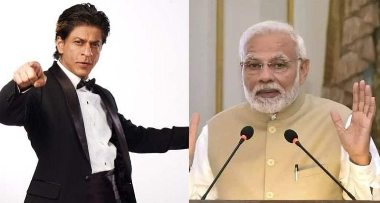Shah Rukh Khan song for PM Narendra Modi