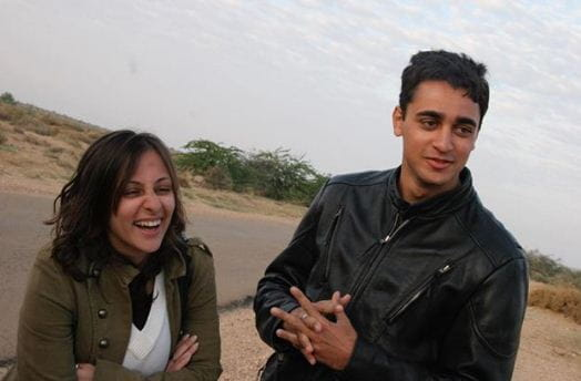 Imran Khan and wife Avantika Malik
