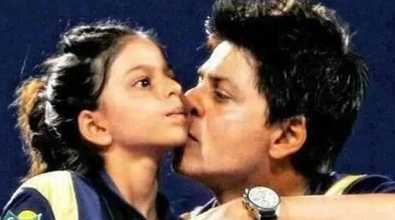 Childhood Pictures of Suhana Khan