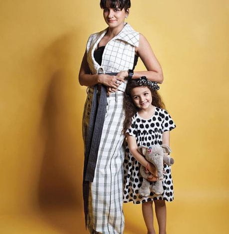Shruti Seth With Her Daughter