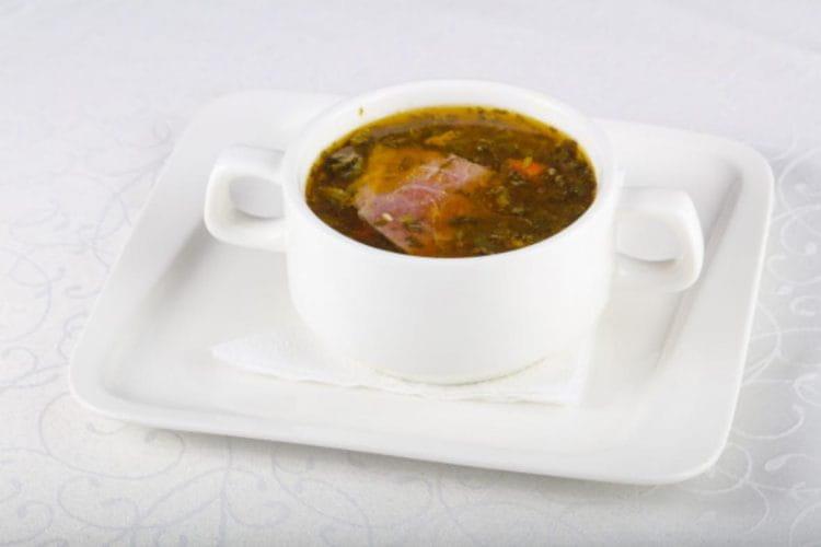 Hyderabadi Mutton Soup
