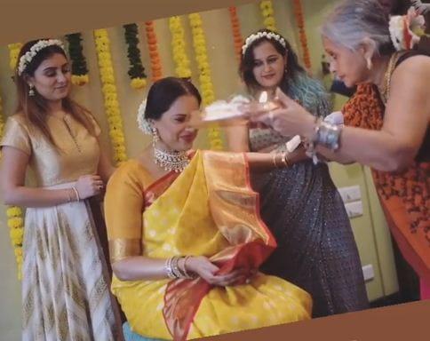 Sameera Reddy's Godh Bharai