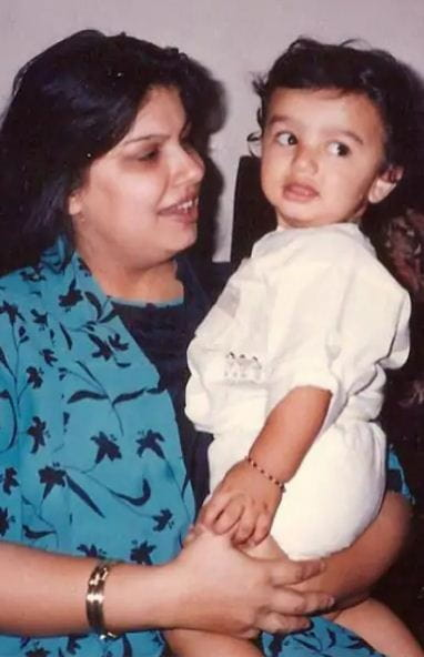 Childhood Photos of Arjun Kapoor