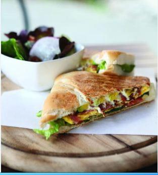 Malai Egg Sandwich
