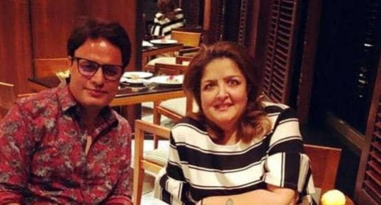 Sunaina Roshan's Boyfriend Ruhail Amin