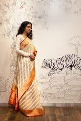 How to Wear Banarasi Saree