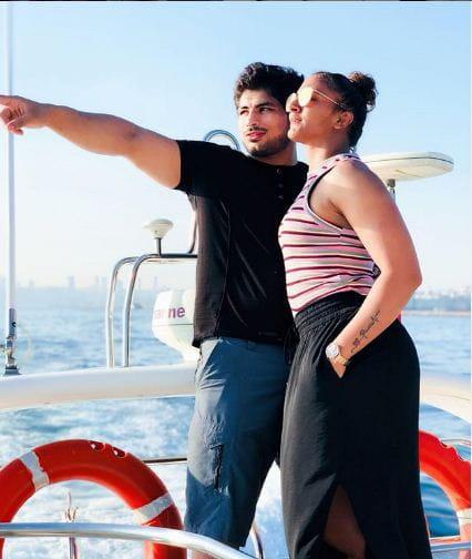Geeta Phogat and Pawan Singh