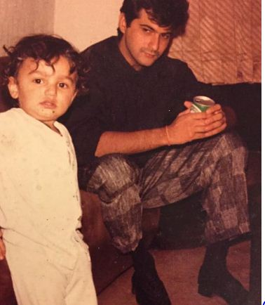 Childhood Pictures of Arjun Kapoor