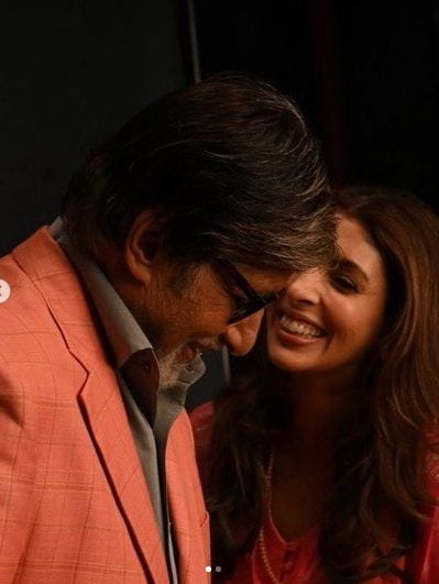 Amitabh Bachchan and Daughter Shweta