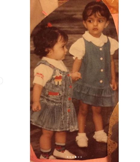 Kiara Advani Childhood Pics