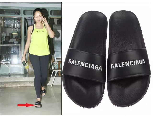 Mira Rajput's Gym Slippers