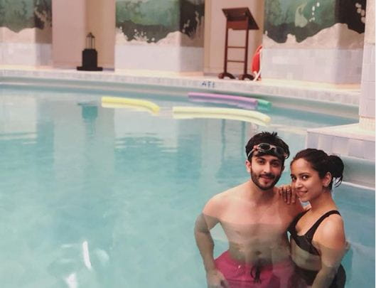 Dheeraj Dhoopar With Wife Vinny