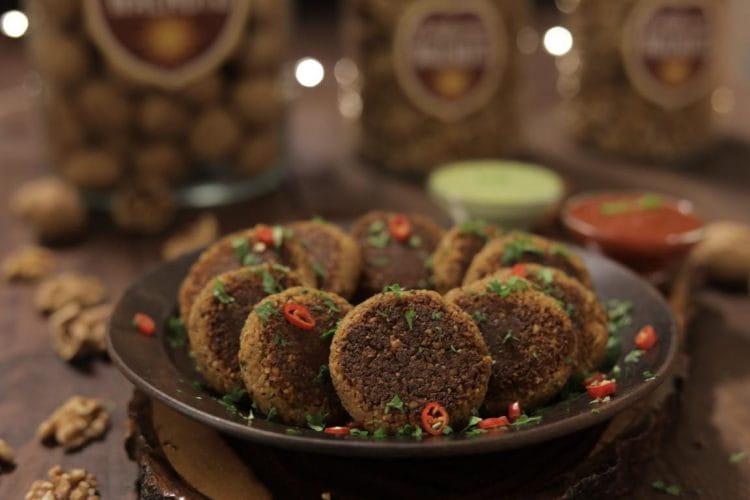 Walnut Paneer Kebab