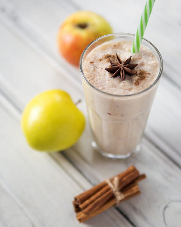 Apple-Oats Smoothie