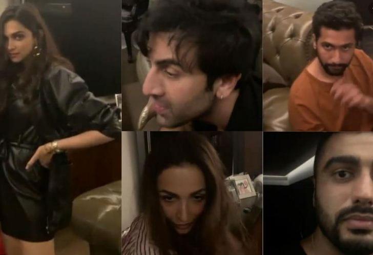 Karan Johar's party