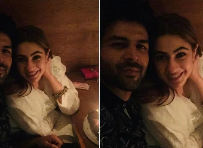 Sara Ali Khan With Kartik Aaryan