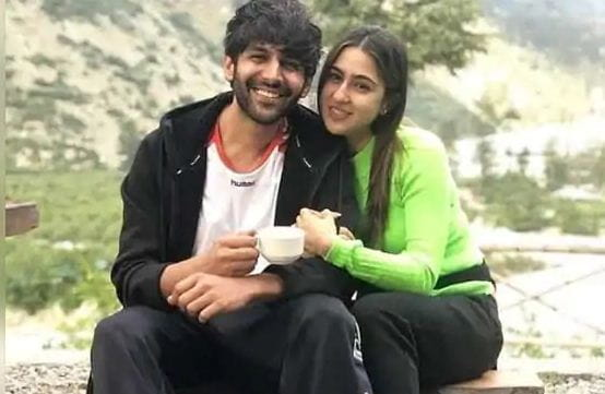 Kartik Aaryan and Sara Ali Khan