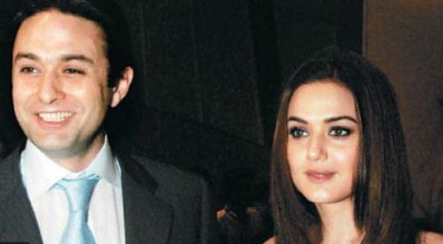 Preeti Zinta and Ness Wadia