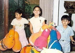 Childhood Pictures Of Ranbir Kapoor And Kareena Kapoor