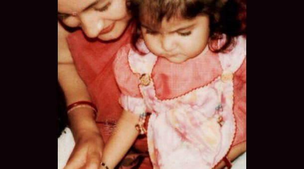 Anushka Sharma's Childhood Pictures