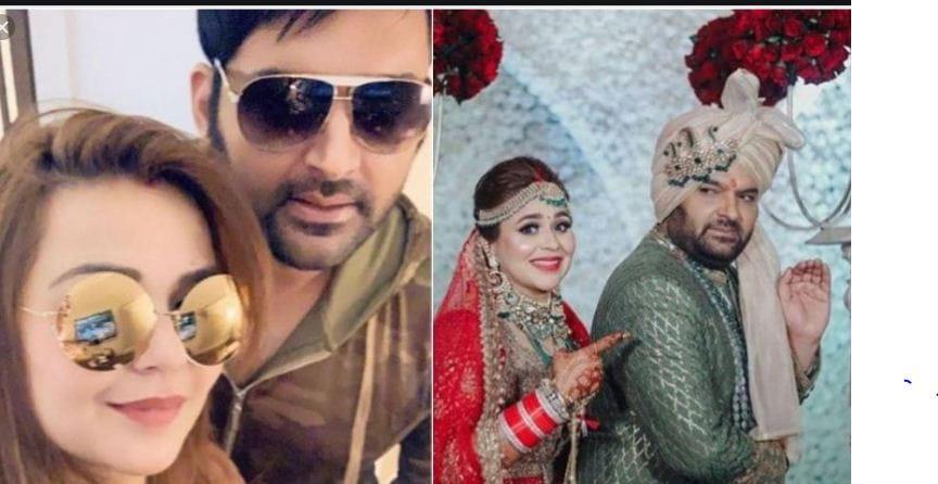 Kapil Sharma With his Wife