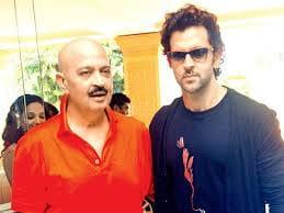 Hrithik Roshan and Rakesh Roshan