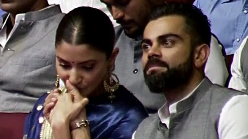 Anushka Sharma and Virat