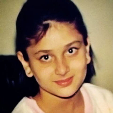 Childhood Pictures Of Kareena Kapoor