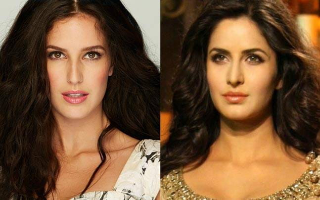 Katrina Kaif and Isabel Kaif