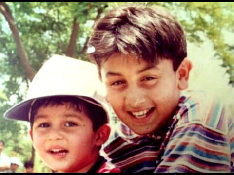 Childhood Pictures Of Ranbir Kapoor
