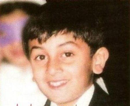 Childhood Pictures Of Ranbir Kapoor