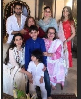 Taimur Family Photo