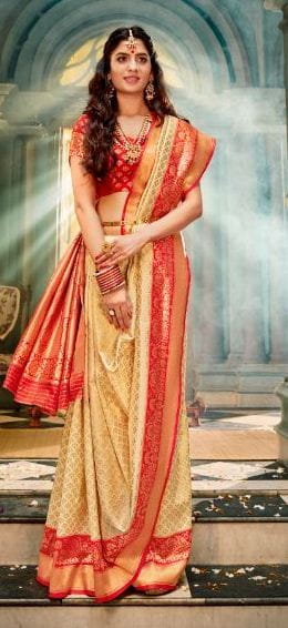Saree Draping Steps