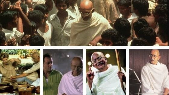 Bollywood Movies Based On Mahatma Gandhi