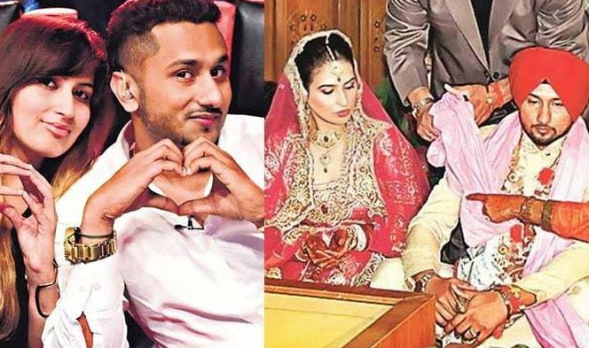 Honey Singh and Shalini