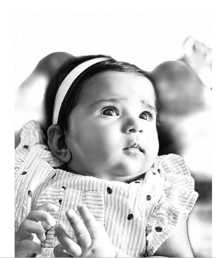 Sameera Reddy's Pic Of Daughter