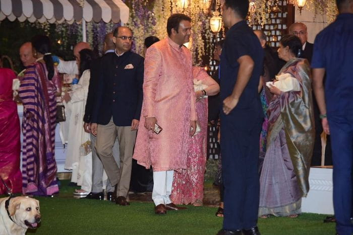 Pre Wedding Bash Of Mukesh Ambani's Niece