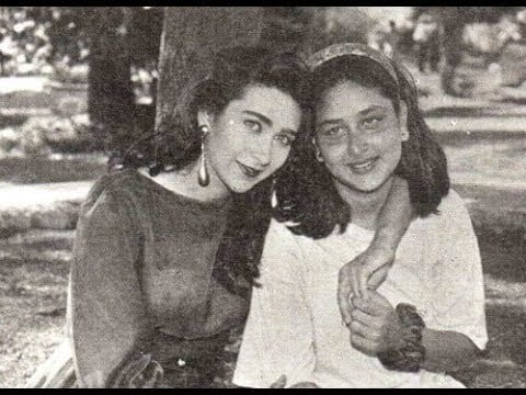 Unseen Pictures of Kareena And Karishma Kapoor
