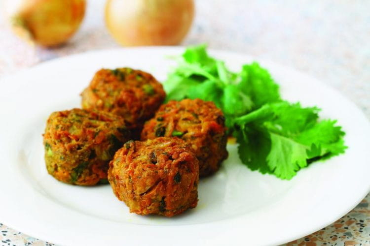 Methi-Bajra-Onion Muthia