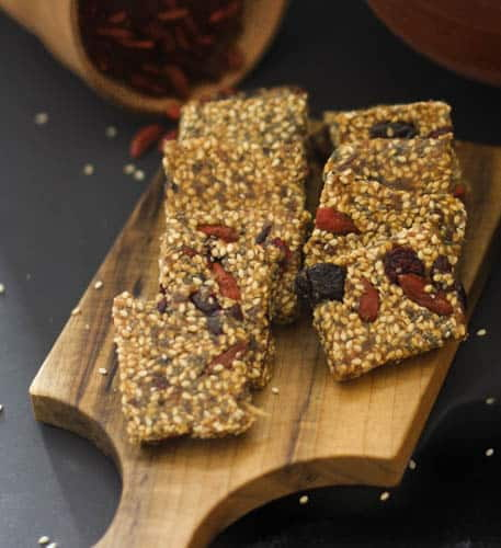 Date and Sesame Bar
