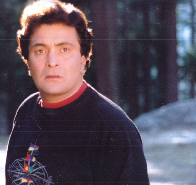 Rishi Kapoor in Sweater