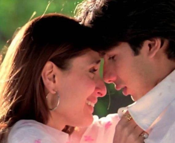 Kareena and Shahid Kapoor