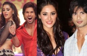 Shahid Kapoor and Nargis