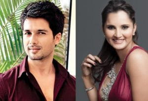 shahid kapoor and sania mirza