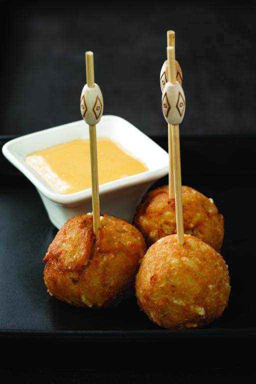 Cheesy-Potato Balls