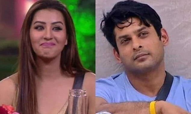 Sidharth Shukla and Shilpa Shinde