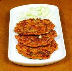 Cabbage Rice Pancake